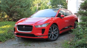 Red Jaguar I Pace